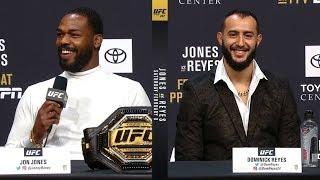 UFC 247: Jones vs Reyes Press Conference