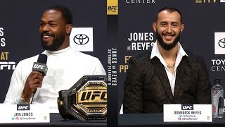 UFC 247: Jones vs Reyes Press Conference