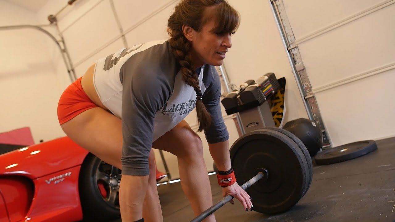 Kristen Graham's Strongwoman Home Workout