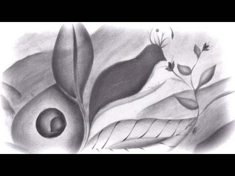 Abstract pencil drawing - Whisperer - YouTube