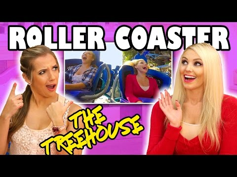 The Treehouse Show for Kids: Jenn & Margeaux Ride a Roller Coaster. Totally TV