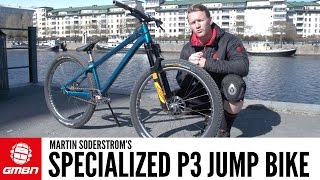 Martin Soderstrom 39 s Specialized P3 Dirt Jump Bike GMBN Pro Bikes