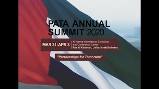 PATA Annual Summit 2020, Ras Al Khaimah, Partnerships for Tomorrow