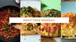 5 Vegetarian Recipes   Episode 2   Meat Free Monday