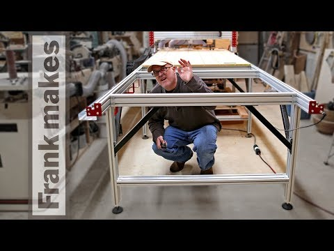 Adding Four Feet to My CNC Router Parts 4′ x 8′ CNC Router