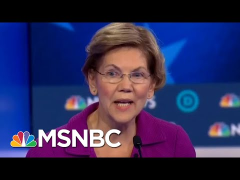 Warren On Whether Sanders Has Released Enough Medical Records: 'He Just Hasn't' | MTP Daily | MSNBC