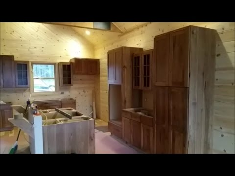 HICKORY CABINETS! Amish Built, Ryan Installed. Fireplace Stone U0026 More