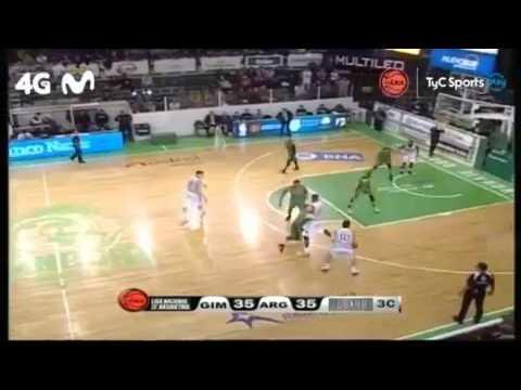 Gimnasia y Esgrima vs. Argentino de Junín - Liga Nacional de Basquet