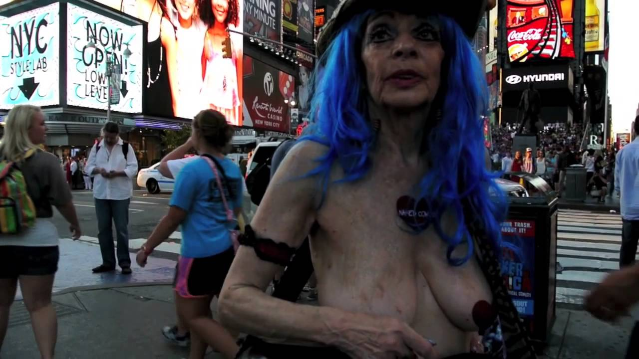 Naked cow girl nyc remarkable