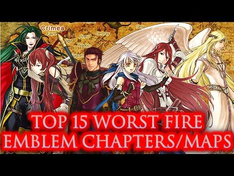 CRASHX500's Top 15 Worst Fire Emblem Maps/Chapters
