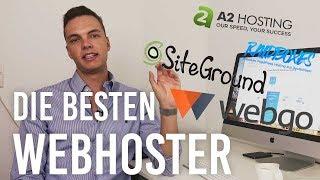 Webhosting Vergleich - Meine TOP 4 WordPress Hoster
