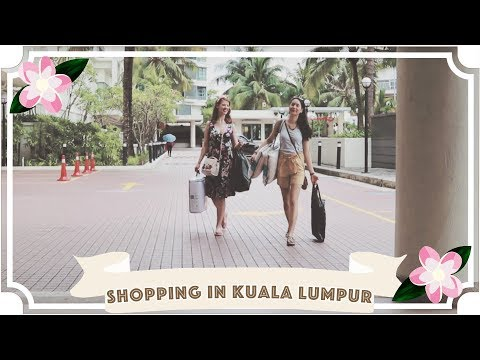 Shopping in Kuala Lumpur // Ep 3 // Traveling With A Chronic Illness // Malaysia Travel Vlog [CC]