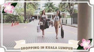 Shopping in Kuala Lumpur // Traveling With A Chronic Illness // Malaysia Travel Vlog [CC]