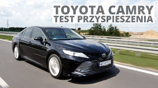 Toyota Camry 2.5 Hybrid Dynamic Force 218 KM (AT) - acceleration 0-100 km/h
