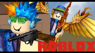 La guerra degli Omega! Roblox Murder Mystery 2 1 v 1/fan vip con Sanic2566 TheGameSpace e NNickel