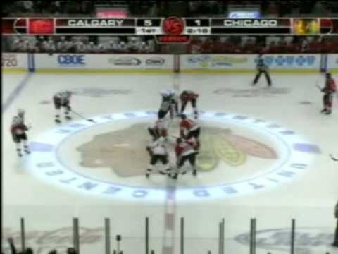 Flames @ Blackhawks Miracle Comeback: October 12, 2009