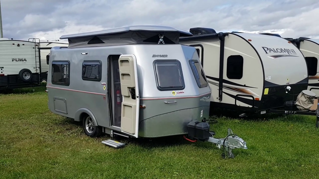 2019 Hymer Touring GT550 Lite Weight Fiberglass Travel Trailer @ Camp-Out  RV in Stratford