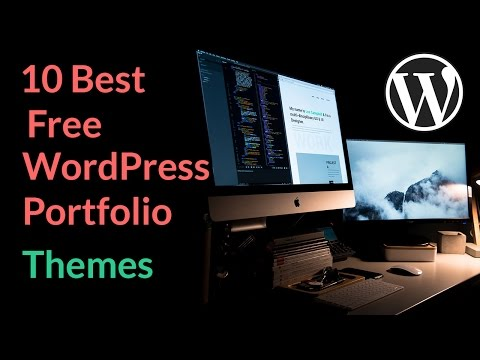Best Free Wordpress Portfolio Themes 2018