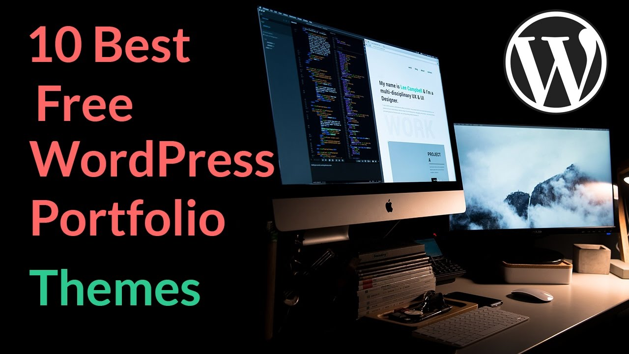 Best Free Wordpress Portfolio Themes 2018 - YouTube