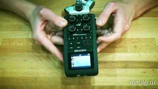 mmag.ru: Портативный аудио рекордер ZOOM H6 - видео обзор
