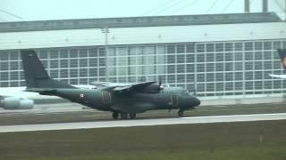 France Air Force Airbus CN 235 landing Munich airport ( MUC / EDDM) HD
