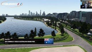 F1 2017: Career Mode #1   AUSTRALIA Part 1
