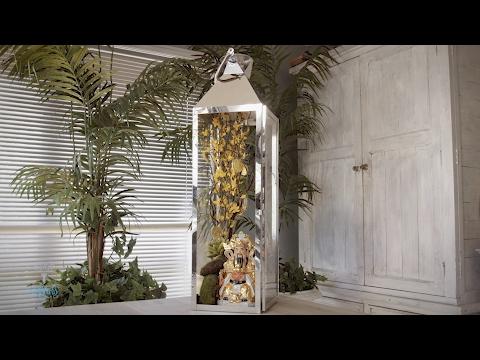 Chinese New Year Design: Money Tree Floral Lantern