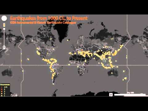 GEM Instrumental and Historical Earthquake catalogue