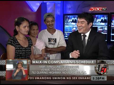 NEWS5E | T3 RELOAD BARANGAY CHAIRMAN NANAKIT NG MENOR DE EDAD | MAY 21 2013