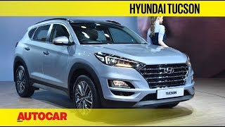 Auto Expo 2020 - Hyundai Tucson Facelift | Walkaround | Autocar India