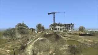 GEOCARTIS - Skaning 3D - Pomiar hałdy kruszywa na budowie w Poznaniu
