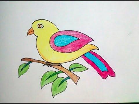Bird art ideas for toddlers