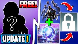 "*NEW* Fortnite Update! | Free Skin for Everyone, S10 ""Easter Egg"" Reward, S11 Map!"