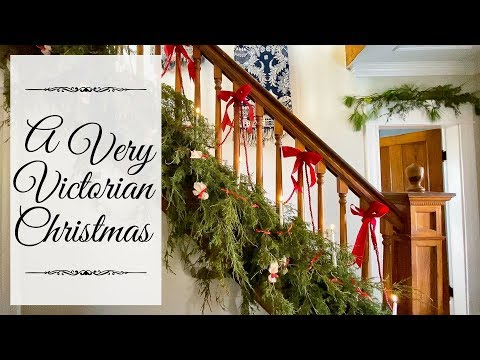 Victorian Christmas Decorations   1901 Christmas Decorating
