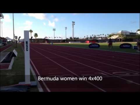 Bermuda Women Win Island Games Relays July 19 2013