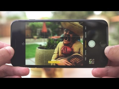 "iPhone 7 Plus ""Portrait Mode"" Hands-On Preview!"