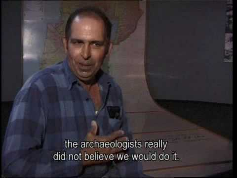 Eitan Navar, Jesus Boat excavation volunteer and member of Kibbutz Ginosar