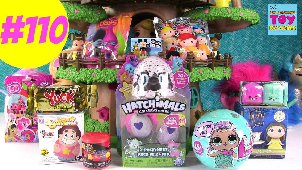 Blind Bag Treehouse 110 Unboxing Lol Doll Hatchimals C