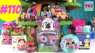 Blind Bag Treehouse #110 Unboxing LOL Doll Hatchimals Colleggtibles Disney | PSToyReviews