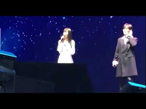 [FANCAM] SMTOWN Live in Dubai - Kangta (ft. Red Velvet Seulgi & Wendy) - Doll