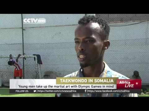 Somalia's young men take up Taekwondo