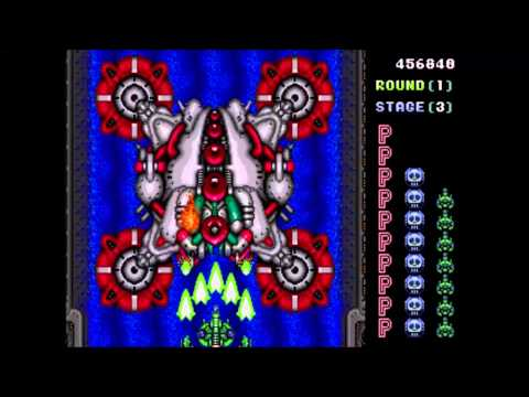 Truxton, Sega Genesis, Playthrough + All Endings