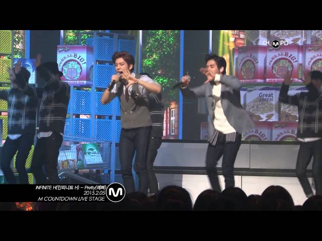 [MPD??] ???? H ?? ?? Pretty INFINITE H Fancam Mnet MCOUNTDOWN 150205