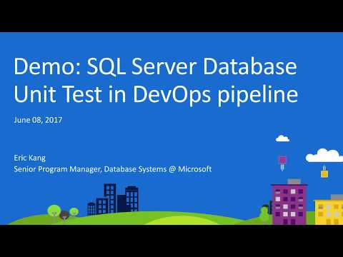 SQL Server Data Tools: Database Unit Test in DevOps pipeline using Slacker framework