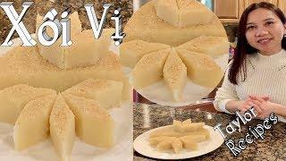 Xôi Vị - Cách nấu xôi vị truyền thống rất đơn giản thơm ngon mềm dẻo - Sticky Rice W/Star Anise