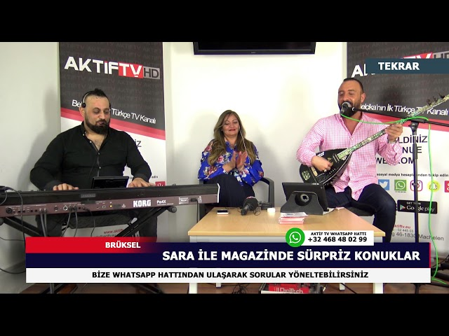 Sara ile Magazin - (Ankaralı Fedail)