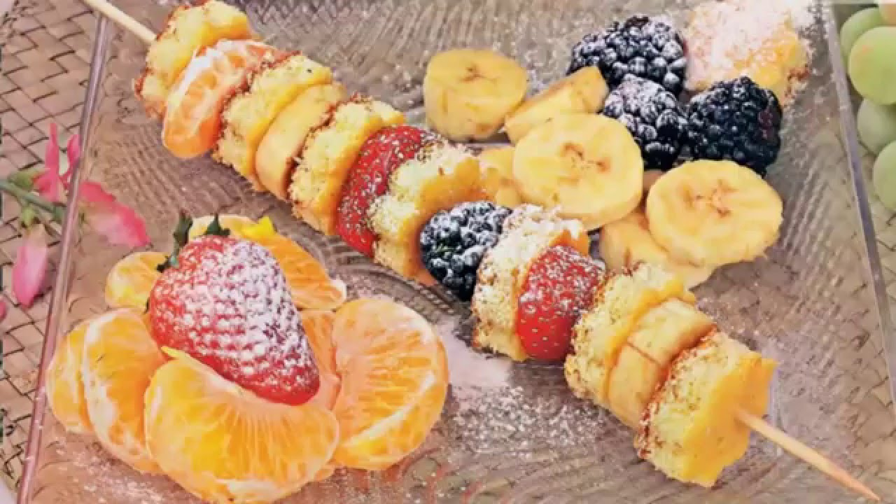 десерты фруктовые рецепты с фото