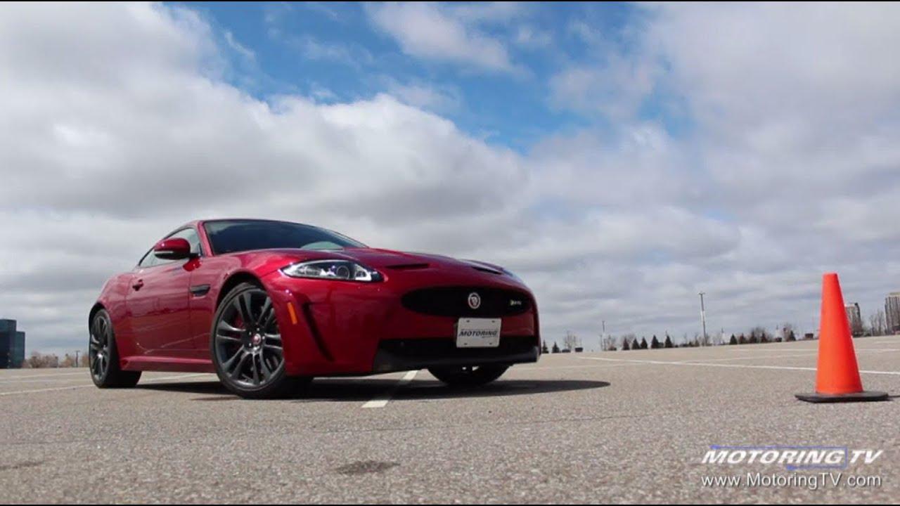 Two Minute Test Drive 2015 Jaguar Xkr S Youtube