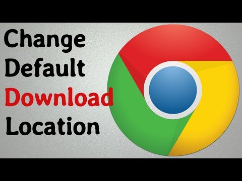 How To Change Default Download Location In Google Chrome ( Laptop / MAC/ PC )