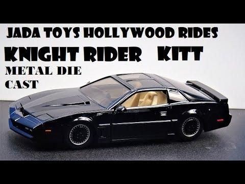 Jada Toys Hollywood Rides KNIGHT RIDER KITT die cast car review